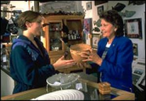 Shopping in Wrangell's Gift Stores