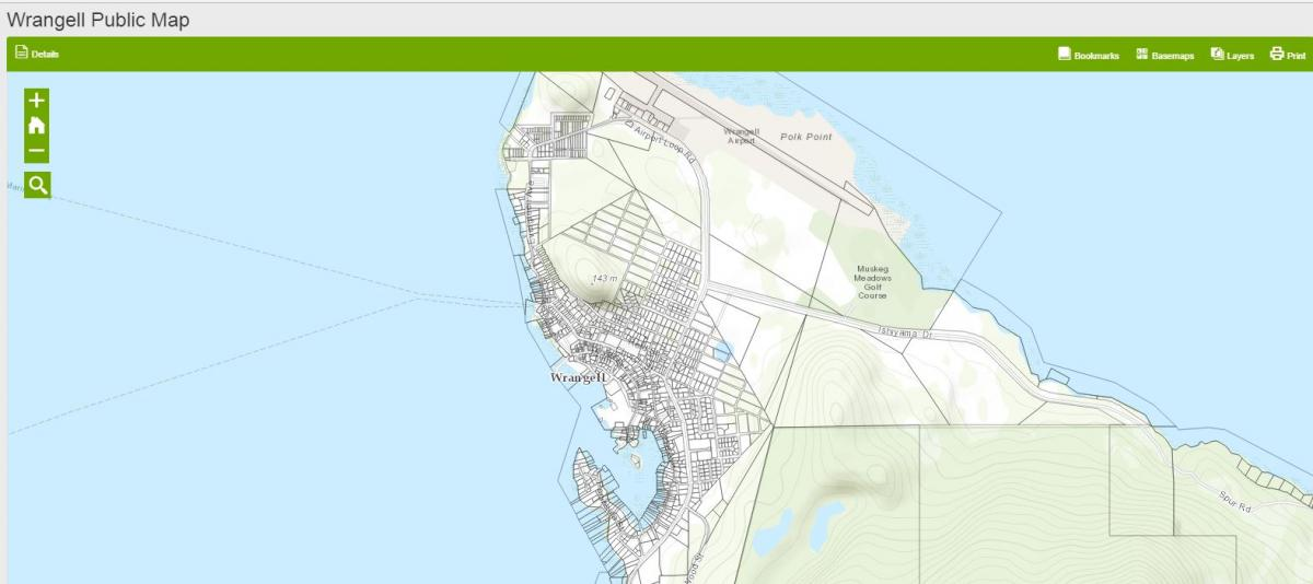 Online Parcel Mapping and Data | Wrangell Alaska